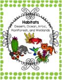 Habitats- A Center Based Multi-Disciplinary Unit of Study