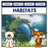 Animal Habitats Unit: Savannah, Grasslands Woodlands, Desert, Tundra, Rainforest