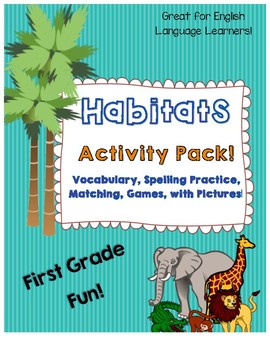 Habitats Activity Pack