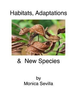 Habitats, Adaptations and New Species eBook