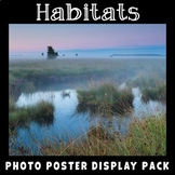 Habitats Vocabulary Posters | Science Display | Earth Science | Life Science