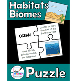 Habitats / Biomes Matching Puzzle Game