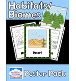 Habitats / Biomes Poster Pack
