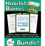 Habitats / Biomes Science Bundle