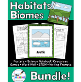 Habitats / Biomes Science Bundle