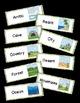 Habitats / Biomes: Science Vocabulary Word Wall