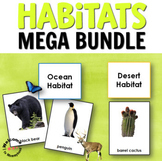 Habitats Bundle 3 Part Cards