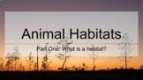 Habitats Bundle for Google Classroom