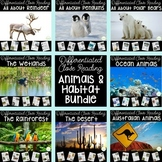 Habitats Differentiated Nonfiction Close Reading BUNDLE