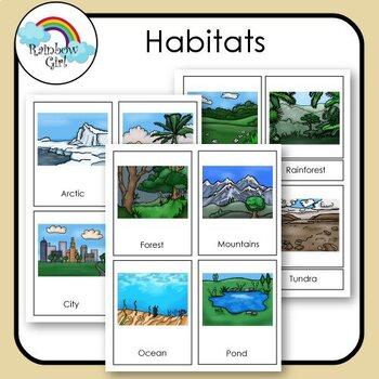 Habitats Cards