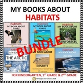 Habitats - Caves,Ponds,Deserts,Rainforests,Ocean,Arctic BUNDLE