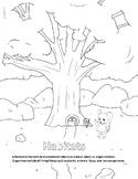 Habitats Coloring Page