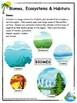 Habitats and Communities Grade 4 Ontario