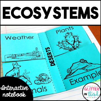 Habitats & Ecosystems Interactive Notebook