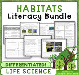 Habitats: Science & Literacy Bundle (NGSS 3-LS4-3)
