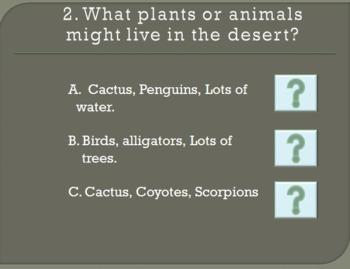 Habitats Game Quiz
