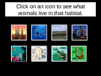 Habitats I Power Points