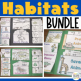 Habitats Interactive Lapbooks Bundle