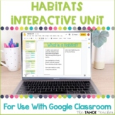 Habitats Interactive Unit for Use With Google Classroom™ |