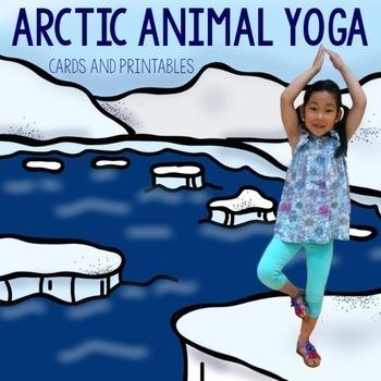 Habitats Kids Yoga Cards and Printables Bundle
