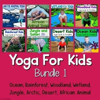 Yoga For Kids Bundle 1