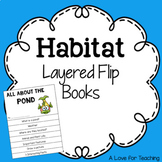 Habitats Layered Flip Books