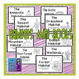 Habitats Mini Books: Set of 9 Easy Readers