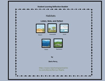Habitats Notes and Reflection Journal