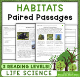 Habitats: Paired Passages/Texts (3-LS4-3)