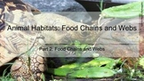 Habitats Part 2 Food Chains for the Google Classroom