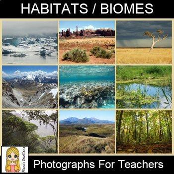 Habitats / Biomes Photograph Pack