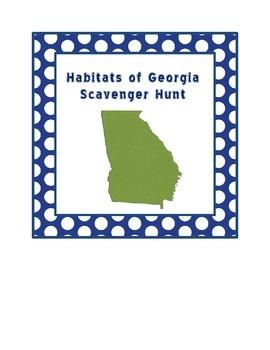 Habitats & Pollution Scavenger Hunt