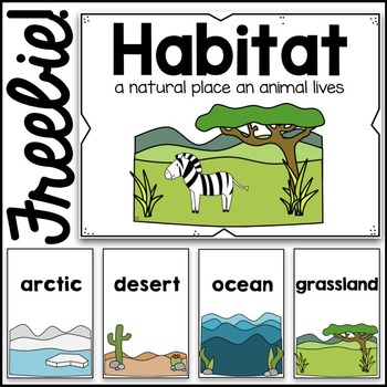 Habitats Poster Cards