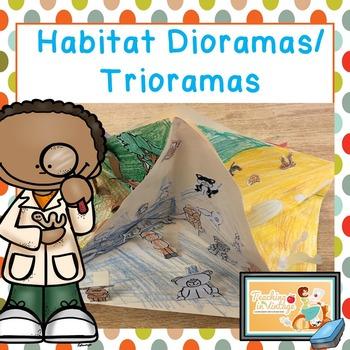 Habitats Project-Triorama/Diorama Low Prep