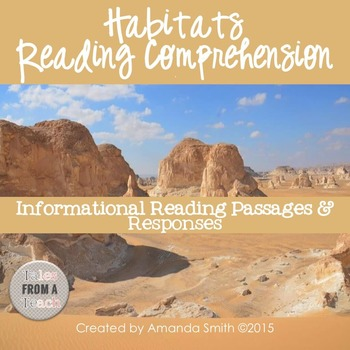 Reading Comprehension Passages: Nonfiction Habitats