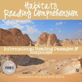 Reading Comprehension Passages: Nonfiction Habitats