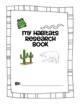 Habitats Research Book