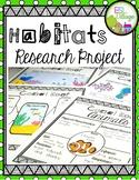 Habitats Research Project Bundle