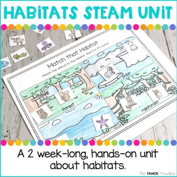 Habitats Science Unit | STEAM Centers for Primary Grades