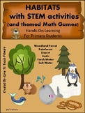 Habitats STEM With Science and Math