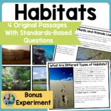 Habitats: Science Reading Comprehension Passages