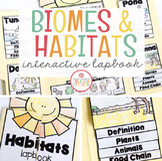 Animal Habitats Science Lapbook