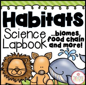 Habitats Science Lapbook