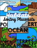 Habitats Sorting Mats ☼ French
