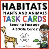 Habitats Task Cards + Digital BUNDLE