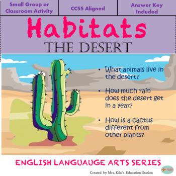 Habitats- The Desert