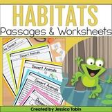 Habitats Unit - Digital Science No Prep Pack With Google Slides