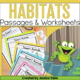 Habitats Unit - Digital Science No Prep Pack With Google Slides