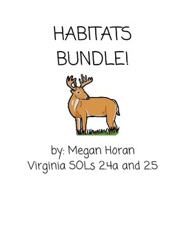 Habitats Unit Bundle!