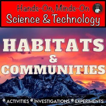 ONTARIO SCIENCE: GRADE 4 HABITATS AND COMMUNITIES SCIENCE CENTRES